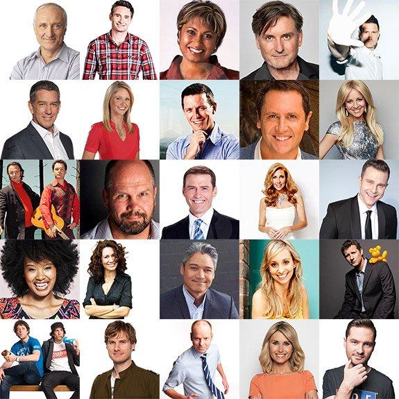 Masters of Ceremonies & Australian Comedians