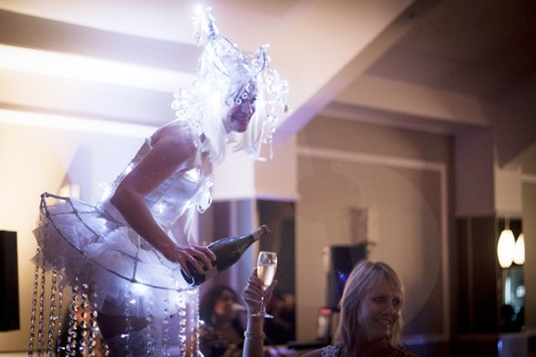Crystal Stilts: Brisbane Illuminated Performer