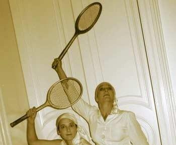 retro-tennis-players Image