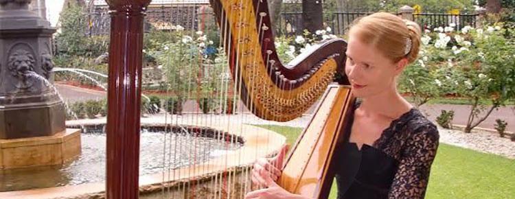 sylvia-harpist Image