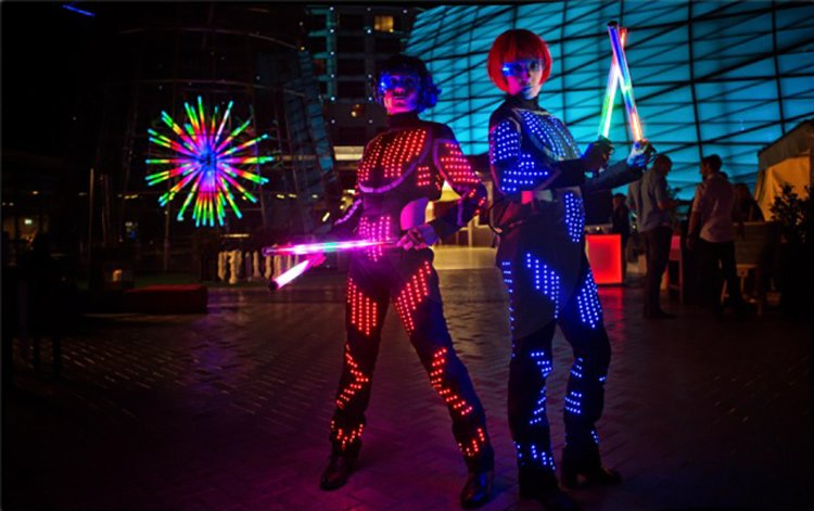 The Replicants: Sydney Illuminated Entertainers