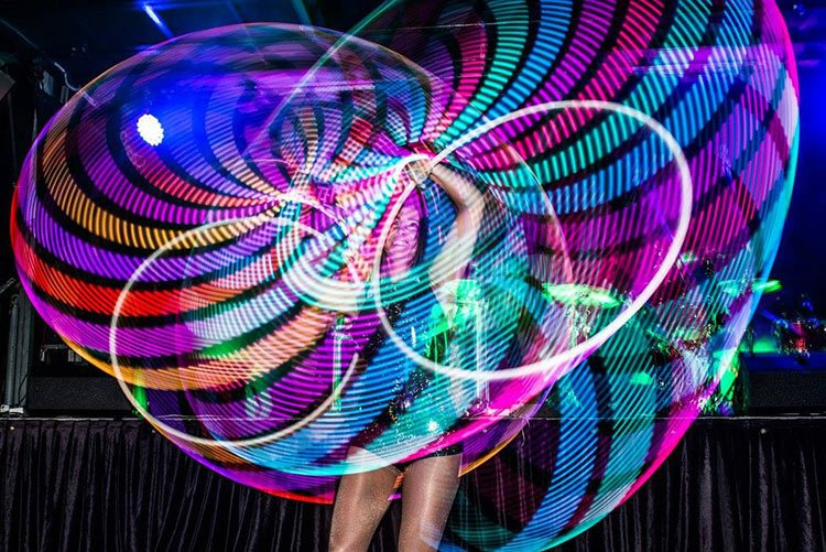 Spinjoy: Sydney Illuminated Entertainers