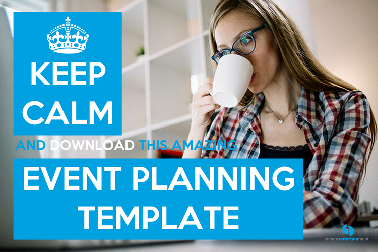 Keep Calm and Use This Amazing Event Planning Template